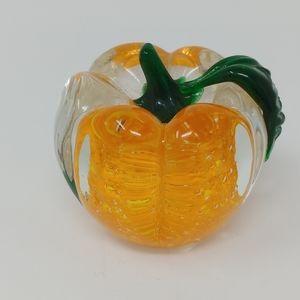 Lenox Pumpkin Paperweight
